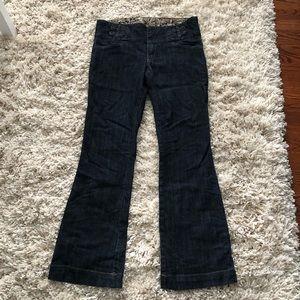 Bootcut trouser jeans